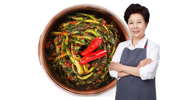 [마음심은] 배윤자 열무김치 3kg / 국내산 농산물