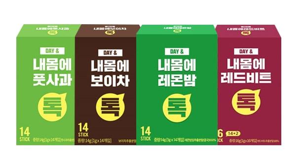 [황토농원] 데이앤 내몸에 레몬밤스틱분말 14포x5박스(70포)