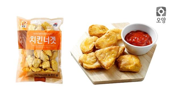 [사조오양] 국내산 치킨너겟 1kg+1kg