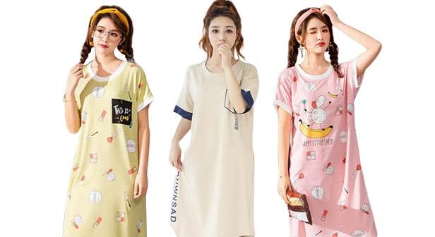 여름신상 원피스 잠옷 파자마 이지웨어 잠옷 파자마룩 홈웨어/예쁘고 편안한 잠옷