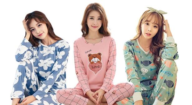 [블론디] 따듯뽀송 꿀잠 잠옷 상하세트 파자마 홈웨어/예쁘고 편안한 잠옷