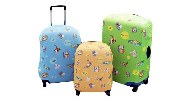 [치카로카] 여행가방 보호커버 사이즈 색상 선택 예쁜 캐리어커버 (S사이즈)