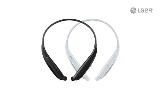 LG톤플러스 HBS-830 블랙/화이트 LG 블루투스이어폰 넥밴드 무선 톤플러스 엘지 쿼드레이어