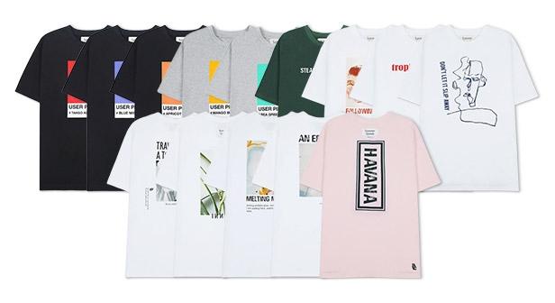 [MKM9] 이너씨티 브랜드퀄리티 티셔츠 균일가