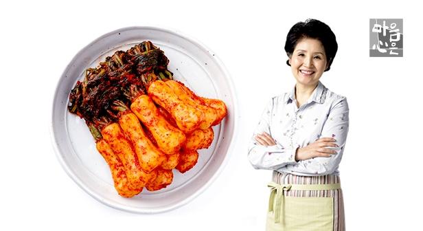 [마음심은] 이종임 총각김치 3kg, 든든한 밥반찬!
