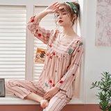 모스트2078B 루미체리 여성 잠옷 홈웨어 세트 (2color)