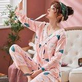 모스트2078A 비앙드 여성 잠옷 홈웨어 세트 (2color)