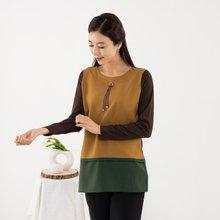 마담4060 엄마옷 삼색배색티셔츠 ZTE909006