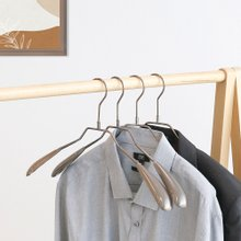[홈앤하우스] 앤틱 논슬립 정장옷걸이 10P
