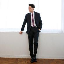 [파파브로]남성 봄가을 양복 팬츠 옴므 정장 바지 PS-A9-701-블랙