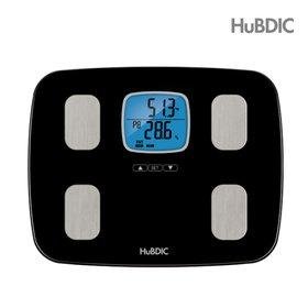 휴비딕 7 IN 1 NEW 블랙바디 디지털 체지방 체중계 HBF-1600
