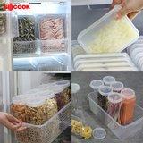 [실리쿡] 냉동실수납용기 올인원 트레이세트A (33종)