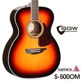 삼익 통기타 SGW S-500OM/3TS 탑백솔리드 OM바디 어쿠스틱기타