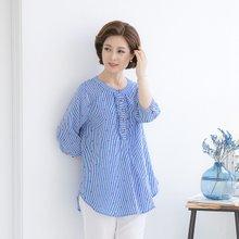 마담4060 엄마옷 하트프릴티셔츠 QDTE906002