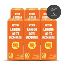 [황토농원] 데이앤 내몸에 꿀꺽 핑거루트환(60정) 6박스(총 12개월)