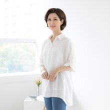 마담4060 엄마옷 단추포인트카라티셔츠 QDTE904002