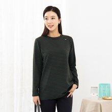 마담4060 엄마옷 포인트줄무늬티셔츠-ZTE911014-