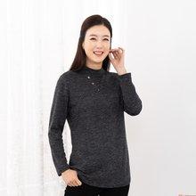 마담4060 엄마옷 브이단추반목티셔츠-ZATE911002-
