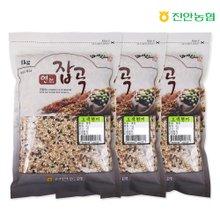 [진안농협] 연잡곡 오색현미 1kg x 3봉