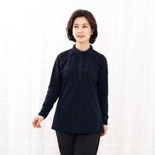 마담4060 엄마옷 레이스포인트블라우스-ZBL912012-