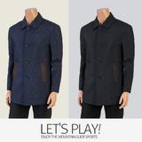 [마운틴가이드]가을,겨울 등산복/패딩/남성 누빔 반코트 자켓 KRM-J73410
