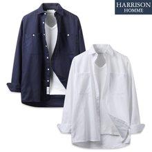 [해리슨] 30수 인생박스 셔츠 MT1419