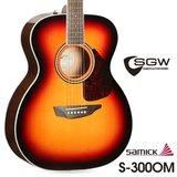 삼익 통기타 SGW S-300OM/3TS 탑솔리드 OM바디 어쿠스틱기타