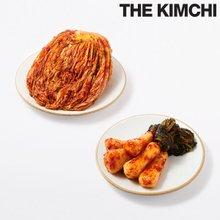 홍진경 더김치 포기김치 5kg + 총각김치 5kg