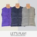 [마운틴가이드]가을,겨울용 등산복/단체복/여성 구스 등산조끼 CEW-B7372
