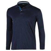 [파파브로]남성 국산 컬러넥 긴팔 카라 티셔츠 LM-L99-WF-진네이비