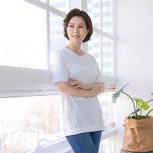 마담4060 엄마옷 포인트포켓티셔츠 QTE903062