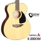 삼익 통기타 SGW S-200OM/NAT OM바디 입문용 어쿠스틱기타