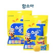 [함소아]씹어먹는 하마쭈 DHA 20정x2봉