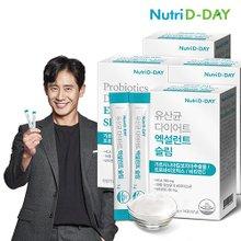 [뉴트리디데이] 유산균 다이어트 엑설런트 슬림 3+1박스 (총 8주분)