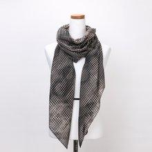 [파파브로]네트 가을 겨울 간절기 패션 스카프 CRA-WSC3044-블랙