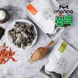 [만나] 오봉산꽃 김부각 30g x 6봉(일반맛)