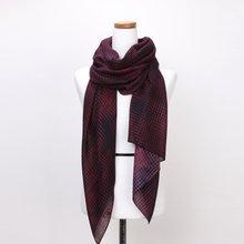 [파파브로]네트 가을 겨울 간절기 패션 스카프 CRA-WSC3044-와인
