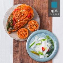 [대복] 김치세트 8kg(포기김치5kg+동치미3kg)
