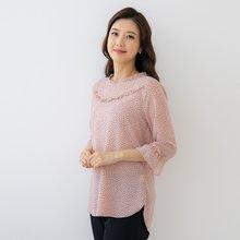 마담4060 엄마옷 네모조각블라우스-ZBL005015-