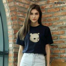[크루클린] 슬릿베어 반팔 티셔츠 TRS011
