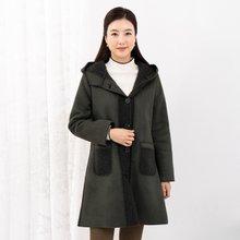 마담4060 엄마옷 에코무스탕후드코트-ZCO911007-