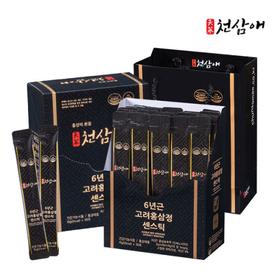 6년근 고려홍삼정 센스틱 10g x 30포 + 쇼핑백