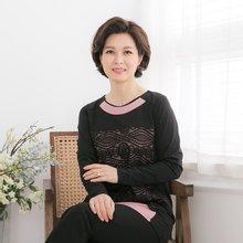 마담4060 엄마옷 데칼코마니이중티셔츠 QTE902052
