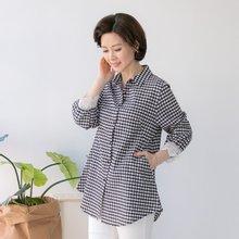 마담4060 엄마옷 레이스카라고방셔츠 QBL903088