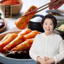 [김나운더키친] 총각김치 3kg / 국내산 농산물 사용