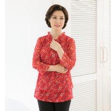 마담4060 엄마옷 잔잔플라워블라우스 QBL903087