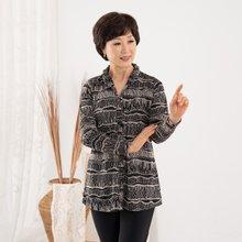 마담4060 엄마옷 와이어벽화셔츠 ZBL909020