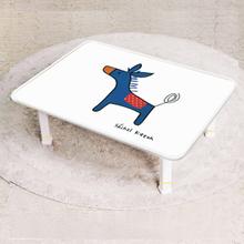 [키높이 조절가능] 신지가토 세이프티 테이블 ( 720*480) 포니 블루