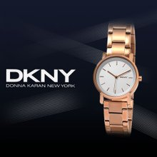 [QR인증]正品[DKNY]여성용 메탈시계 NY2344