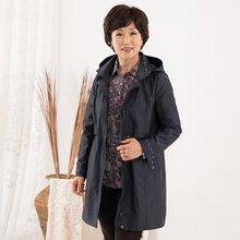 마담4060 엄마옷 패턴포인트롱점퍼 ZJP909007